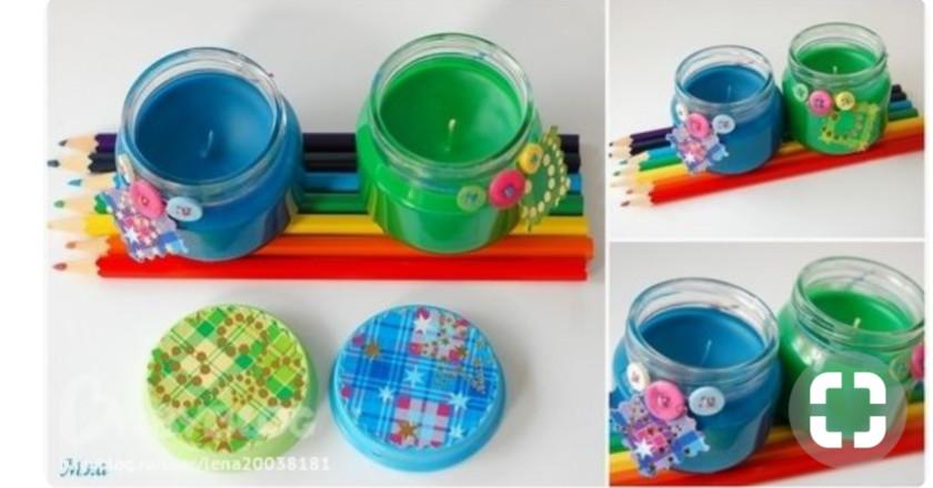 Поделки из бутылочек из детского питания 96