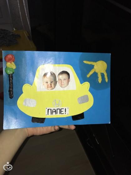 Подарки детскими руками для папы