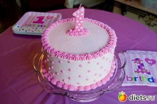Торты на день рождения ребенка своими руками для девочек