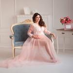 Розовый закат. Фотограф беременности в Белгороде.