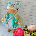 Текстильная интерьерная куколка!