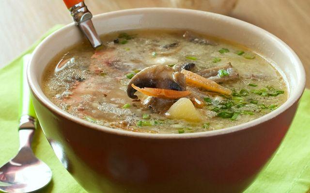простой рецепт грибного супа из сушеных грибов