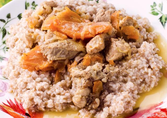 Пшенично-мясная каша