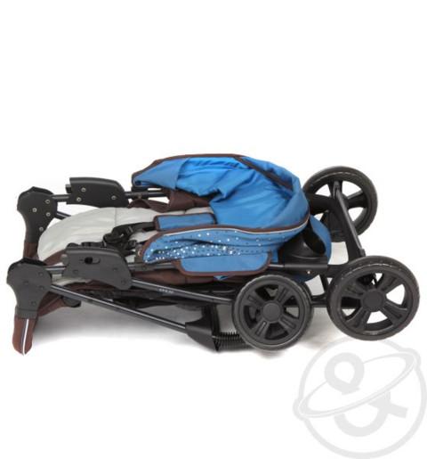 коляска mobility one e0970 texas как складывается