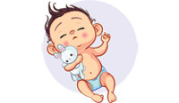 Новорожденный тужится и кряхтит