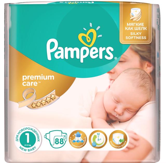 Чем отличаются pampers premium care