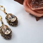 Новые серьги с кристаллами Swarovski