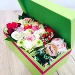 Цветочки в коровке)