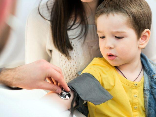 Норма артериального давления у детей