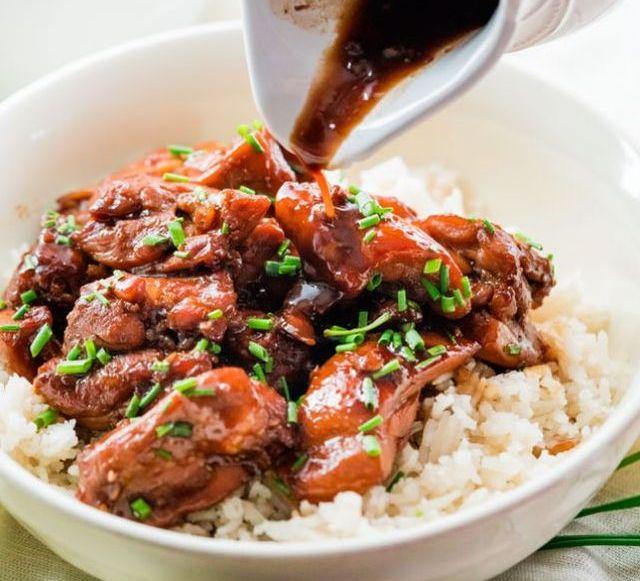 Рецепт 1. Грудка курицы в соевом соусе