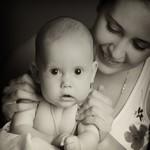 Анастасия и Александр в фотопроекте материнство