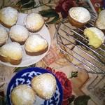 Кексы лимонно-мандариновые