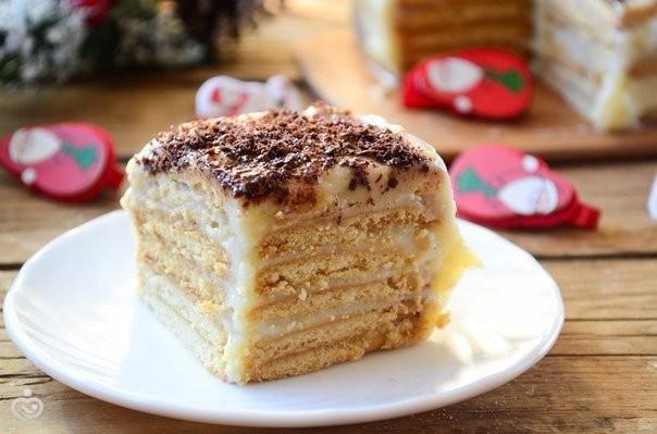 Рецепты тортов печенья фото