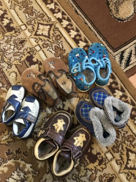 ОТДАМ обувь разную (размеры 25-29)