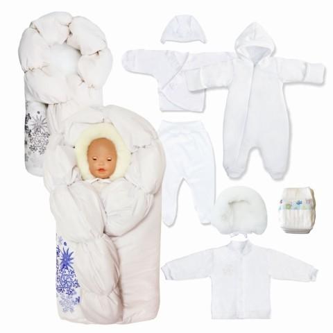 Какая одежда нужна новорожденному на выписку зимой
