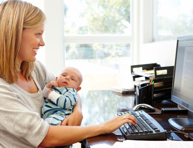 Права на пособие для ребенка до 1,5 лет при частичной занятости или работе на дому