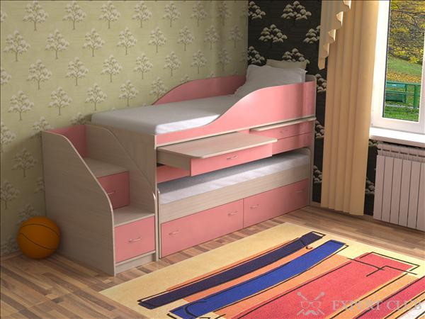 Двухъярусная кровать или две односпальные?